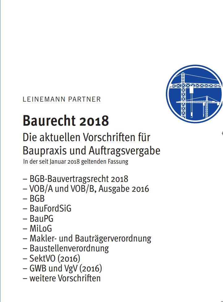 Leinemann Partner Rechtsanwälte Veröffentlichungen